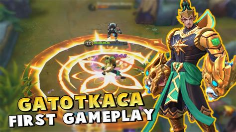 Gatotkaca First Gameplay ! The Perfect Tank-mage Hybrid ? Mobile Legends