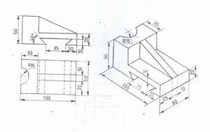 Engineering Drawing  Orthographic Views
