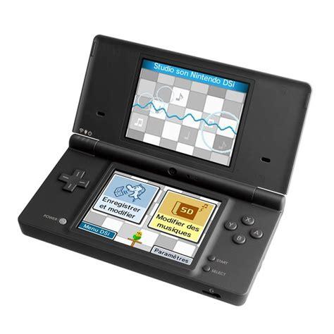 Console Nintendo Dsi Noire  Console De Jeu Ninten Achat