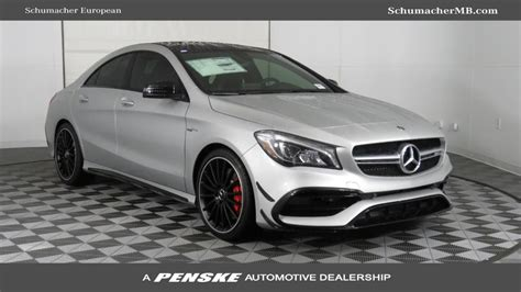 2019 New Mercedesbenz Amg Cla 45 4matic Coupe At Penske