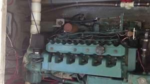 Volvo Tmd40a Diesel Engine Startup