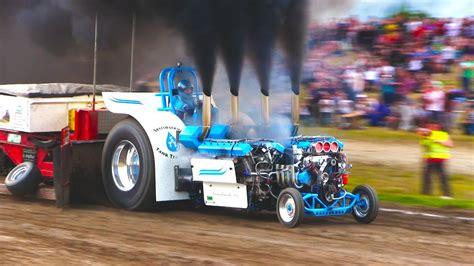 fullpulls  slaedehunden  slow motion tractor