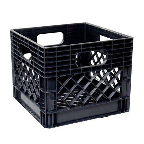 kitchen island storage ideas gsc technologies 11 in x 13 in x 13 in black crate