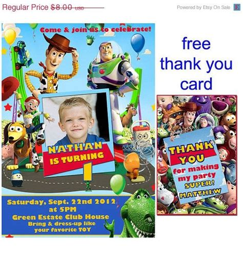 toy storybday card templates 70 best toy story bday images on pinterest toy story