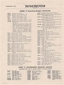 Winchester Model 12 Parts Diagram