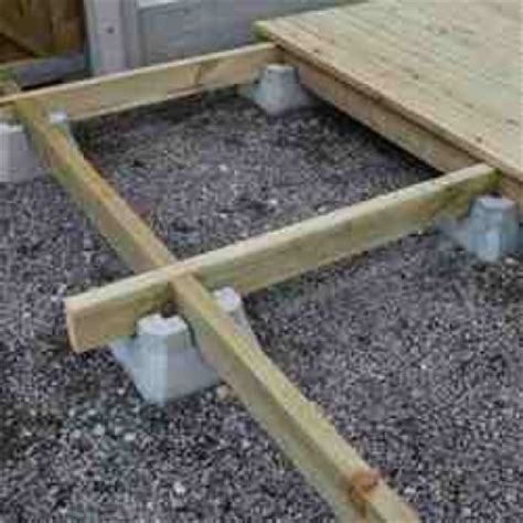 stunning images deck block plans wrekin concrete products decking block you grow
