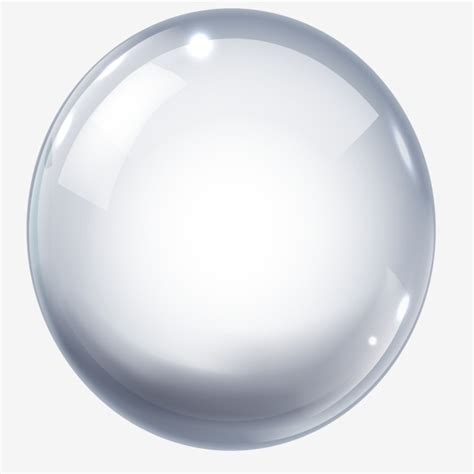 ball glass png vector psd  clipart  transparent