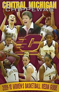 2009-10 Central Michigan Women U0026 39 S Basketball Media Guide By Mike Boseak