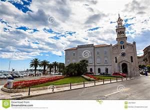 Church Near Square Of Republic In Split Royalty Free Stock