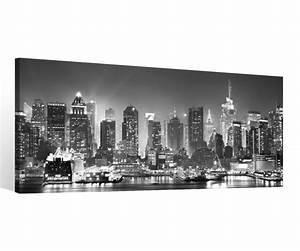 Schwarz Weiß Bilder Gerahmt : leinwand 1 tlg new york schwarz wei skyline stadt usa bilder wandbild 9c118 holz fertig ~ Watch28wear.com Haus und Dekorationen