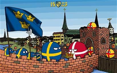 Polandball Imgur Stockholm Countryballs Sweden Humans Sad