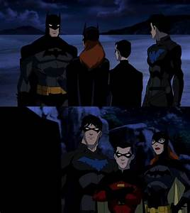 Young Justice Batman, Nightwing, Robin, & Batgirl | Young ...