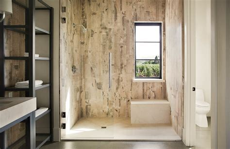 Walk in Shower   Farmhouse   Bathroom   San Francisco   by