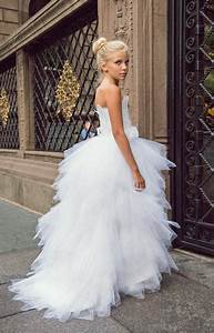 Quot The Swan Princess Quot Feather Flower Girls Dress Love Baby J