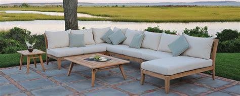 kingsley bate ipanema seating sectional summer house patio