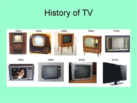 History of TV - презентация онлайн