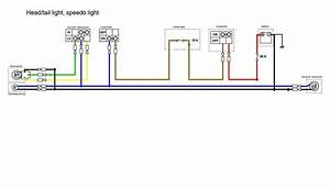Headlight Section Of The Simplified Wiring Diagram For
