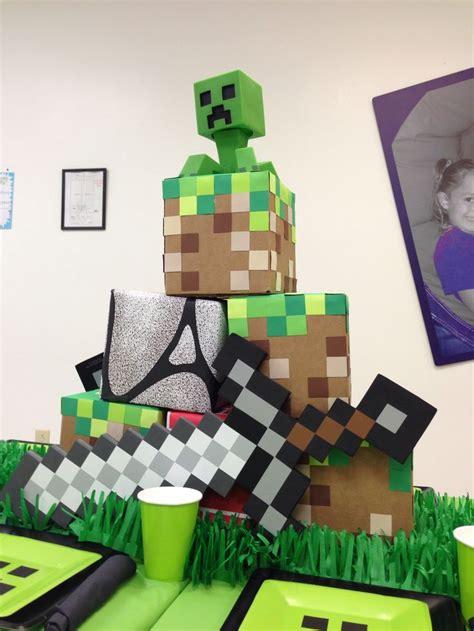 Minecraft Table Decorations  Minecraft Ideas Pinterest