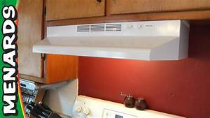 Rangehood - How To Install - Menards