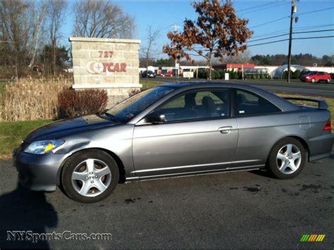 2004 Honda Civic Ex Coupe In Magnesium Metallic