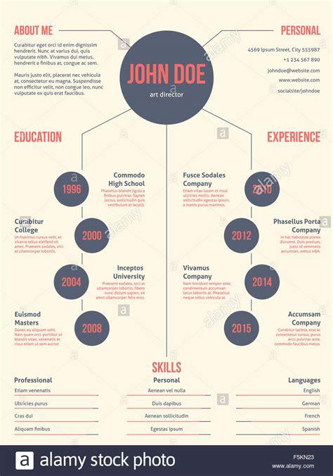simplistic but cool modern resume cv curriculum vitae