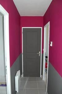 Porte De Couloir : peinture couloir et portes ~ Nature-et-papiers.com Idées de Décoration