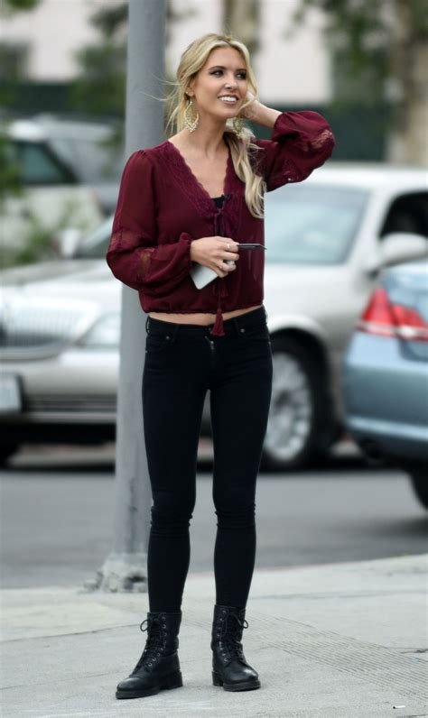 Audrina Patridge Street Style Out Los Angeles