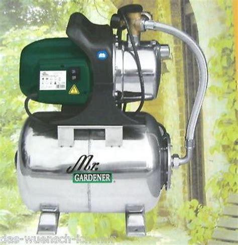 hauswasserwerk mr gardener hauswasserwerk mr gardener hw 4000 in dorsten gartenger 228 te rasenm 228 kaufen und verkaufen