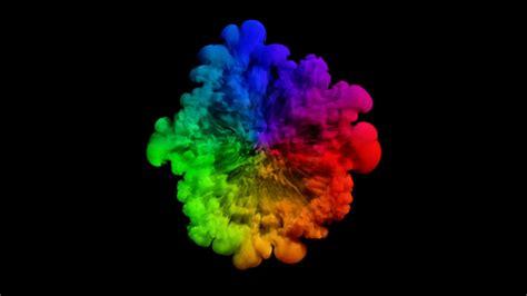 smoke colors colored smoke colored smoke radial explosion on black