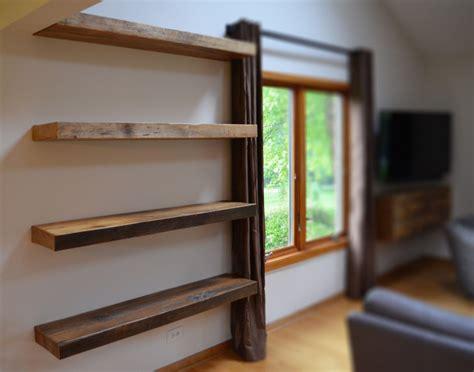 floating book shelves rustic floating shelves beautiful shelf at narrow room 3772