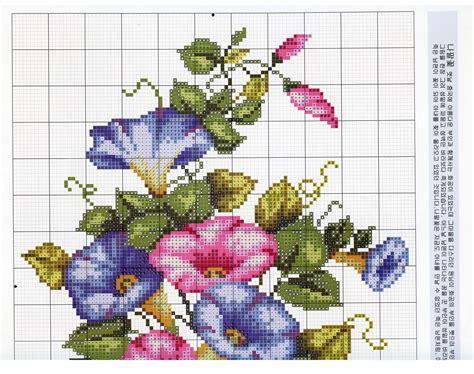 schemi punto croce fiori punto croce schemi mazzi di fiori schemiapuntocroce it