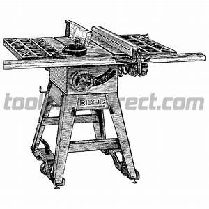Ridgid Ts24240 10 Inch Table Saw Parts