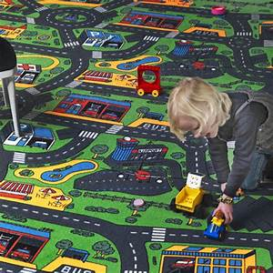 moquette circuit voiture ville larg 4m decowebcom With tapis moquette circuit