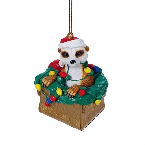 merry meerkat christmas ornament more wildlife and