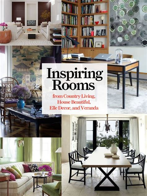 decorating ideas  beautiful rooms  country living