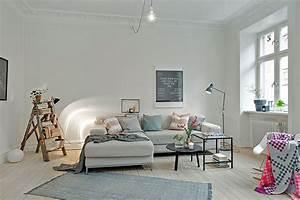 Deco Pour Salon : d co salon style scandinave ~ Premium-room.com Idées de Décoration