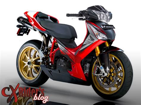 Modifikasi Motor Supra X 125 Underbone by Modif Supra 125