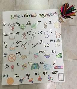 Birthday Chart Ideas Tamil Alphabet Chart Diy Learning Worksheets Alphabet