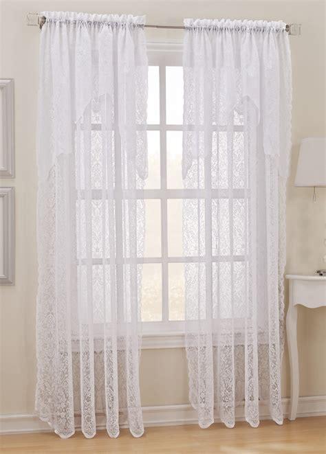 Pollencia Sheer Lace Curtain Panel Ebay