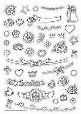 Cake Decorate Coloring Pages Decorating Worksheets Printable Colouring Printables Activity Sheets Decorations Colour Preschool Cut Village Birthday Worksheeto Via Cutting sketch template