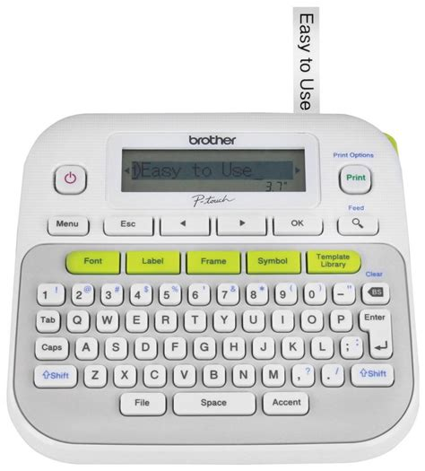brother p touch pt  label maker review  gadgeteer