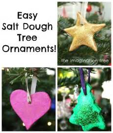 easy salt dough ornaments tutorial the imagination tree