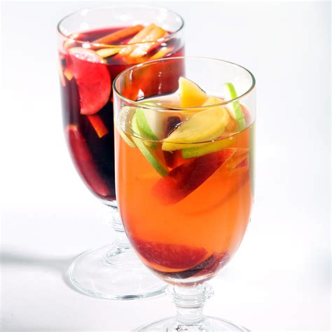 sangria summer punch  cooler recipes martha stewart