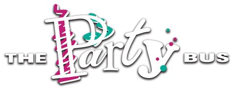 party bus logo home the party bus