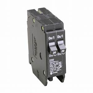 Eaton 20  20 Amp Standard Quality Single