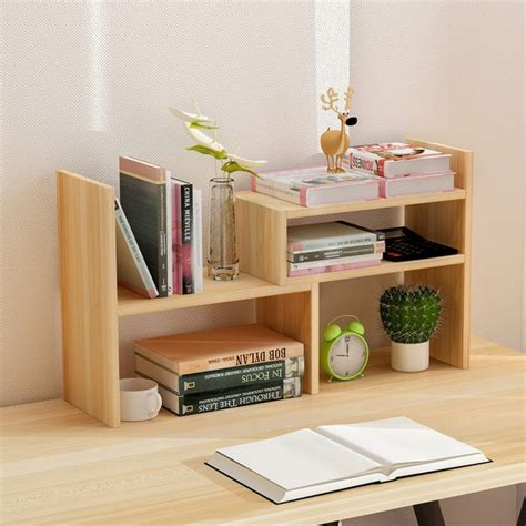 Office Desk With Bookshelf by Creative Computer Desk Bookshelf Simple Shelf Small Office