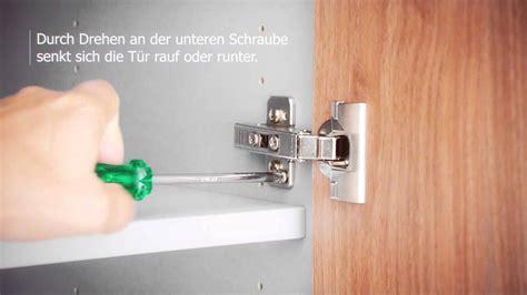 Schranktüren Richtig Einstellen by Praxistipp 7 Ausrichten Der T 252 Ren
