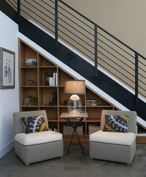 For a cohesive look, paint the furniture pieces the same color. Useful Under Stairs Storage for Various Purposes in Order ...