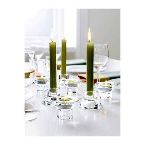 ikea neglinge glass set   tea light holder candle