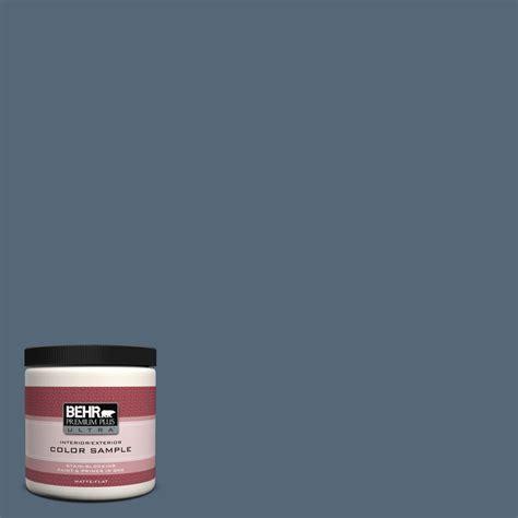 how to choose paint colors for kitchen behr premium plus ultra 8 oz s510 6 durango blue matte